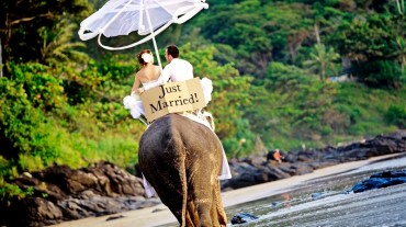 Свадебная церемония на пляже НяЧанга: Вьетнам