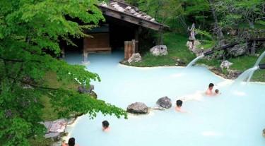 Япония: отдых Кайке (паром)
