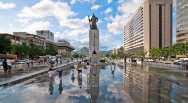 Сеул: осенние каникулы (паром)