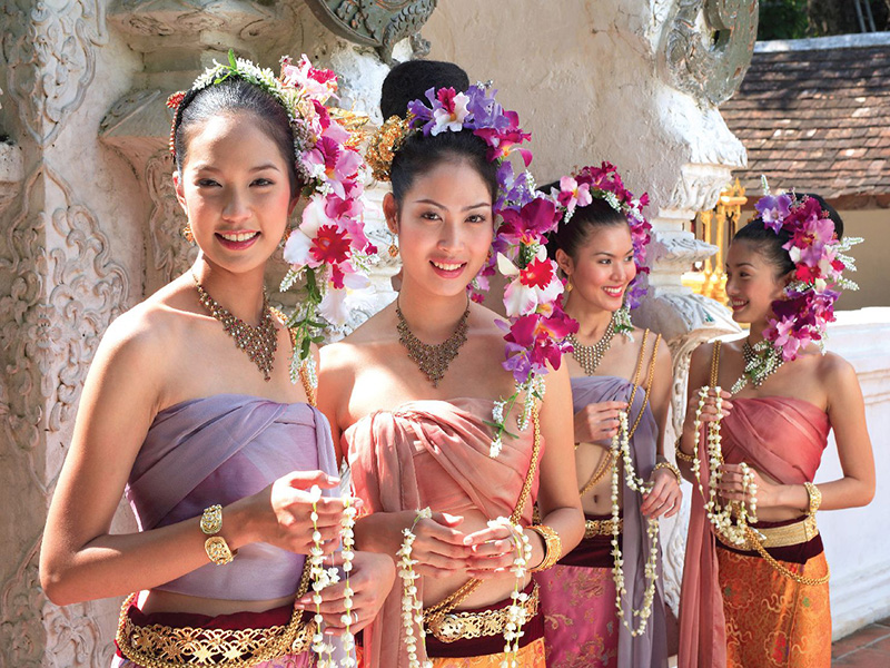 Thai village wedding