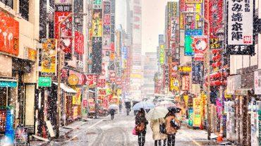 Очарование японской зимы (зима 2018)